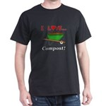 I Love Compost Dark T-Shirt