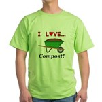 I Love Compost Green T-Shirt