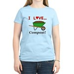 I Love Compost Women's Light T-Shirt