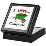 I Love Compost Keepsake Box