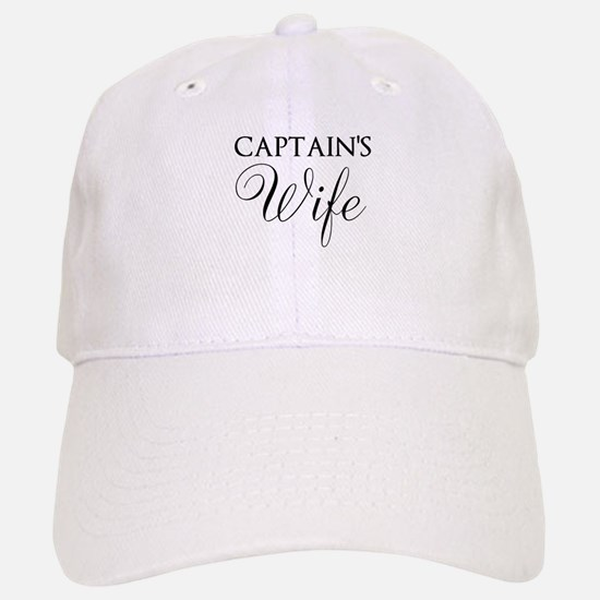 Captain's Wife Baseball Baseball Baseball Cap