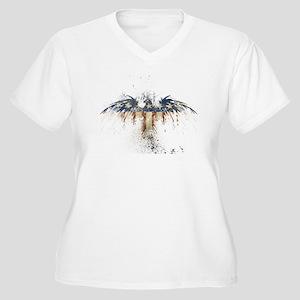 COLORFUL EAGLE Plus Size T-Shirt