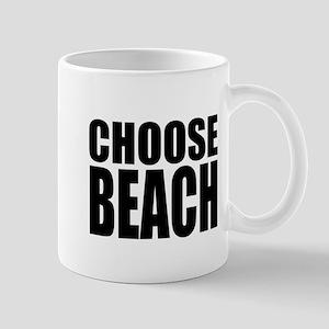 Choose Beach Mugs
