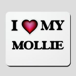 I love my Mollie Mousepad