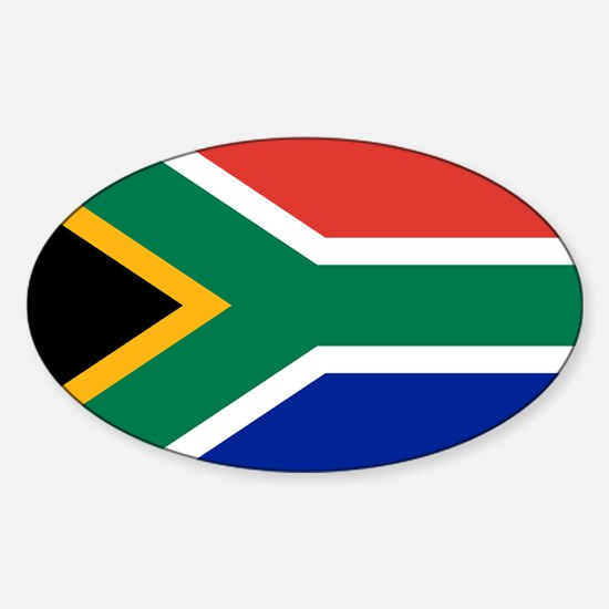 Cute South afrika Sticker (Oval)