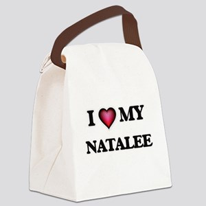 I love my Natalee Canvas Lunch Bag