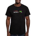 I Love Bull Sh#t Men's Fitted T-Shirt (dark)