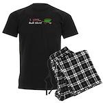 I Love Bull Sh#t Men's Dark Pajamas