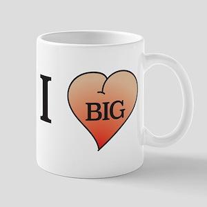 I heart big butts Mugs