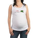 I Love Bull Sh#t Maternity Tank Top