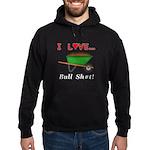 I Love Bull Sh#t Hoodie (dark)
