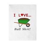 I Love Bull Sh#t Twin Duvet
