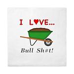 I Love Bull Sh#t Queen Duvet