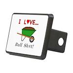 I Love Bull Sh#t Rectangular Hitch Cover