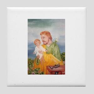 St. Joseph Tile Coaster