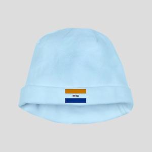 Oranje Blanje Blou - Flag of South Africa baby hat