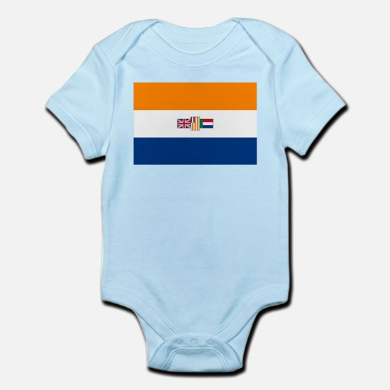 Oranje Blanje Blou - Flag of South Afric Body Suit