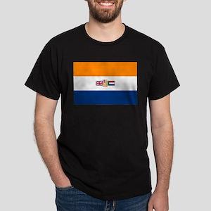 Oranje Blanje Blou - Flag of South Africa T-Shirt