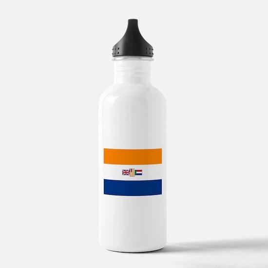Oranje Blanje Blou - F Water Bottle