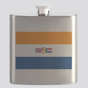 Oranje Blanje Blou - Flag of South Africa (1 Flask