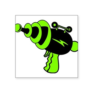 0eb6c8e70e1 Neon Green Square Stickers - CafePress
