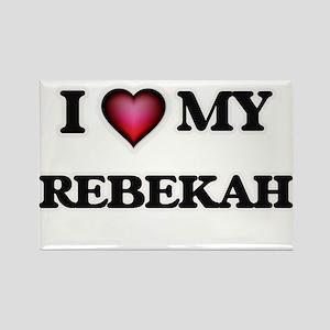 I love my Rebekah Magnets