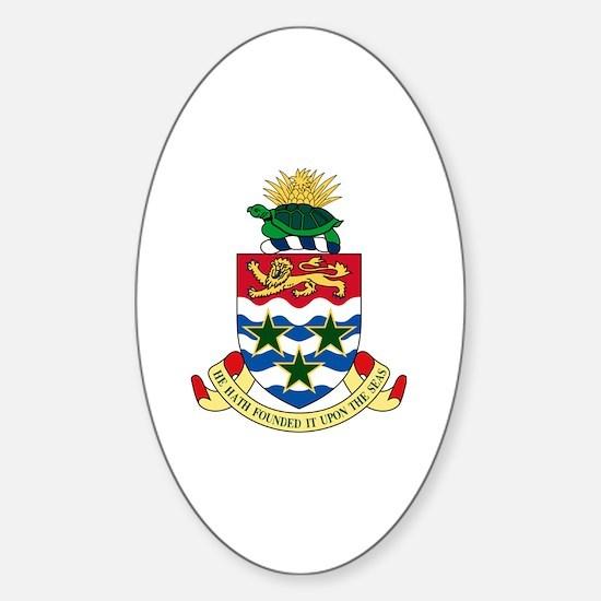 Cute Caymanian Sticker (Oval)