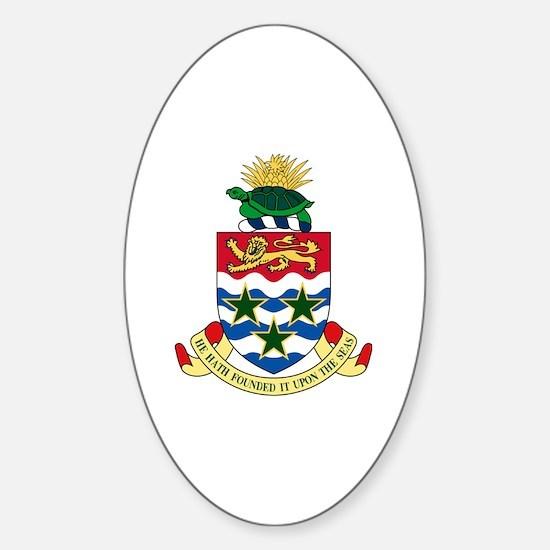 Unique Caymanian Sticker (Oval)