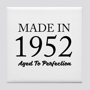 Made In 1952 Tile Coaster