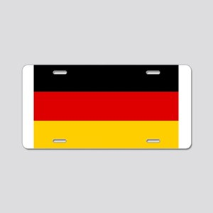 Flagge Deutschlands - Flag Aluminum License Plate
