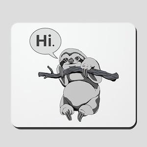 Friendly Sloth Mousepad