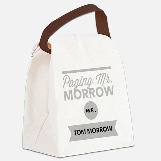 Cute Morrow Canvas Lunch Bag