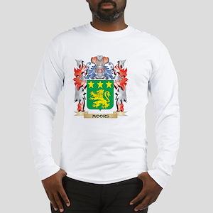 Moors Coat of Arms - Family Cr Long Sleeve T-Shirt