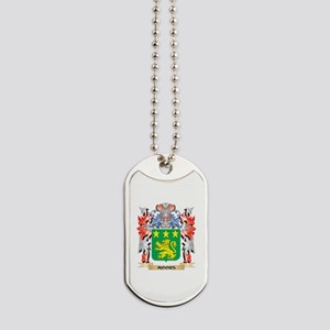 Moors Coat of Arms - Family Crest Dog Tags