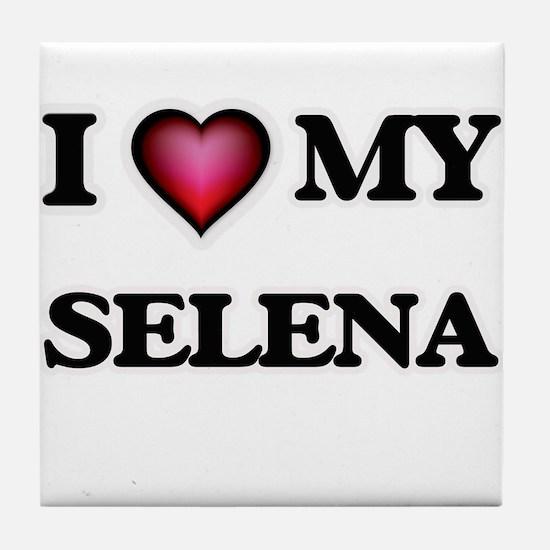 I love my Selena Tile Coaster