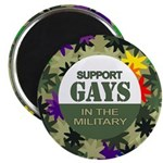 SUPPORT GAYS IN THE MILITARY Magnet
