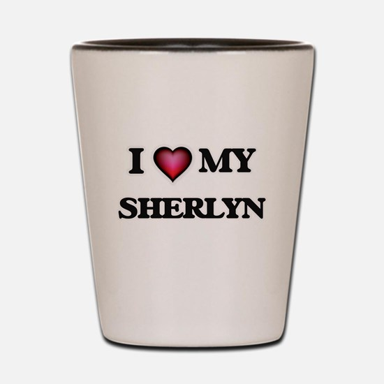 I love my Sherlyn Shot Glass