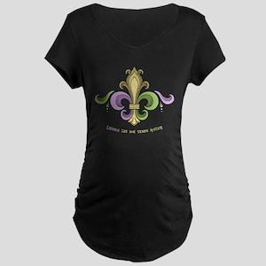 Laissez De Lis Maternity T-Shirt