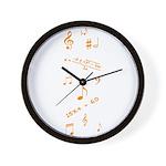 Music and Math Wall Clock