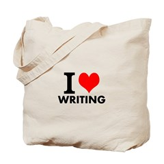Page Publishing Love Writing Tote Bag