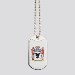 Moriarty Coat of Arms - Family Crest Dog Tags