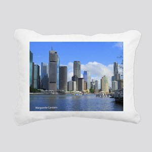 Brisbane City Rectangular Canvas Pillow