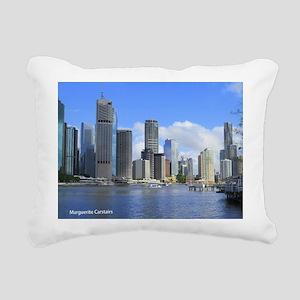 Brisbane City Rectangular Canvas Pillow