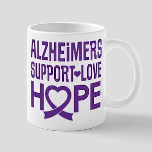 Alzheimers Disease Support Mugs