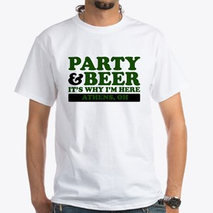 Party & Beer -Athens, OH- T-Shirt