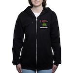 I Love Gardening Women's Zip Hoodie