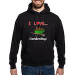 I Love Gardening Hoodie (dark)