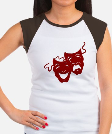 theatre junkie red back T-Shirt