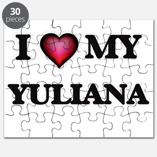 I love my Yuliana Puzzle