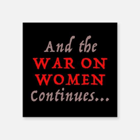 War on Women Sticker
